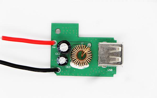 车用IPAD充电器2.4A PCBA板