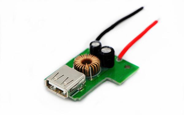 车载充电单口USB2.4A PCBA板