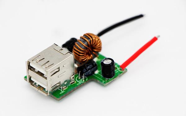车载充电双口USB4.8A PCBA板