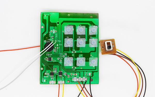 多功能遥控电子PCBA板